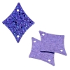 Sequins Hologram 29x36mm With Hole Diamond Lilac